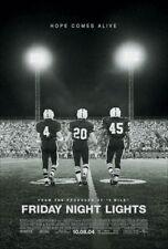 FRIDAY NIGHT LIGHTS MOVIE POSTER 2 Sided ORIGINAL FINAL 27x40 BILLY BOB THORNTON