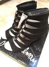 SAM EDELMAN Satina Women's Size 7, Black Suede Shoes MSRP $150
