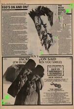 Dexys Midnight Runners The Bridge Tour Advert NME Cutting 1982
