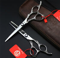 "6.0"" Professional Hair Scissors Mayan 440C Hairdressing Shears Cutting Thinning"