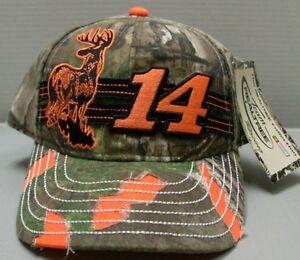 Tony Sewart Team Realtree Racing Ladies Camo Hat By Chase Authentics Free Ship