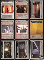 9 STAR WARS CCG Cloud City LoT UNCONTROLLABLE FURY +++