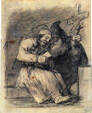 Goya Drawings: The Spanish Inquisition: 3 Art Prints