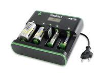 Ansmann Powerline 5 Ladestation Ladegerät Prozessorlader