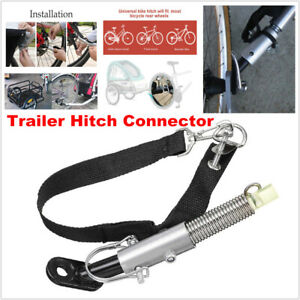 Bicycle Hook Connect Adapter Trailer Hitch Coupler Linker Attachment Angle Elbow
