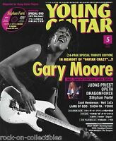 Young Guitar Magazine May 2012 Japan Gary Moore Judas Priest Yes