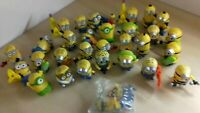 McDonalds Happy Meal Minions Plastic Toys Joblot of 31