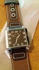 orologio Jay Baxter uomo bracciale pelle -garanzia due anni - A053 quadrante ner