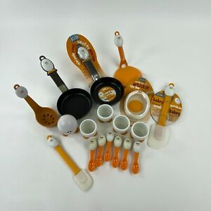 Joie MSC Egg Cooking Accessory Lot Mini Fry Pan Egg Cups Spoons Spatula Egg Ring
