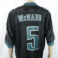 Philadelphia Eagles Donovan McNabb Jersey #5 Reebok Black On Field Sz XLarge