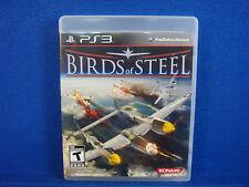ps3 BIRDS OF STEEL S* *x Real Combat Flight Game NTSC Playstation REGION FREE