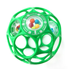 Oball - Rattle Spielzeug mit Rasselperlen Tannengrün