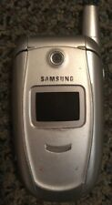 READ BEFORE YOU BUY Samsung SGH E315 (Red Pocket) Silver Cell Phone Fair Used