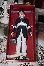 "Franklin Mint  GWTW Vinyl Portrait Doll RHETT BUTLER 16 1/2""  NEW Damaged Box"