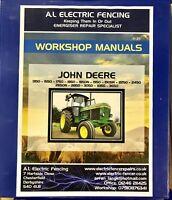 John Deere 1350-3650 Complete Tractor Technical Repair Workshop Manual,Free Post