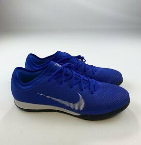Nike Vapor 12 Pro IC Indoor Soccer Cleats Shoes Blue AH7387-400 Men's Size 11.5