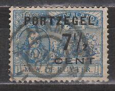 Port nr 37 CANCEL ALKMAAR NVPH Netherlands Nederland Pays Bas due used portzegel