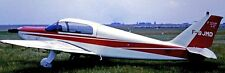 ML-250 Rubis Scintex France Light Airplane Wood Model Replica Small FreeShipping