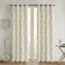 Thermal Insulated bedroom Jacquard Blackout Curtain Ring Top 3 size drop 1pair