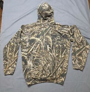 Drake Waterfowl Systems Old School Camo Performance Hoodie Pullover Men's Large