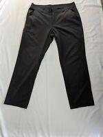Columbia Omni Shield Mens Global Adventure Pants Lightweight Dark Gray 36 x 30