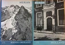 Merian : Berner Oberland - Holland (1962 - 1963) Ca