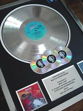 MEAT LOAF BAT OUT OF HELL LP - MULTI PLATINUM DISC RECORD AWARD ALBUM