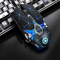 Wireless Cordless Mouse Mice Optical Scroll For PC Laptop Computer+ USB Receiver