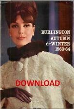 1963-1964 Burlington Mail Order Catalogue, Autumn/Winter, PDF DOWNLOAD