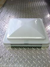 "14"" x 14"" White Replacement Vent Lid for Enclosed Trailers RVs Campers"