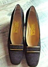 Ferragamo Classic Black  Shoes  Size 8AA