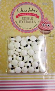 Jane Asher Home Baking Edible Eyeballs 25g Approx 60 Eyes Cupcake Decoration