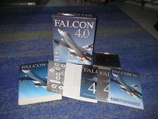 Falcon 4.0 PC deutsche Erstausgabe mit Anleitung 500 Seiten Landkarte usw.