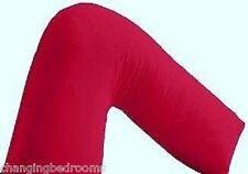 De Lujo ortopédicos Maternidad / Almohada con un ajuste Rojo / Funda De Almohada