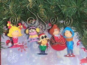 The Grinch who Stole Christmas Cindy Lou Who Etc Custom Christmas Tree Ornaments