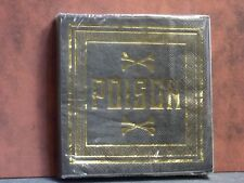 Halloween Paper Napkins Gold Poison Design 5X5 inch P39 Dollys Gallery