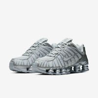 Nike Nike Shox TL Total Pure Platinum Chrome Mens Running Shoes AV3595-003