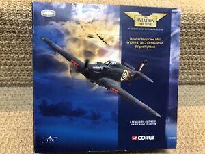 Corgi 1:72 Hawker Hurricane MKI, W9349/E 213 Sqn, Night Fighter, No. AA32002