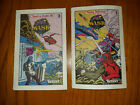 M.A.S.K. Comic Inserts To Boxes For Sale