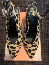 NWB Gianni Bini Size 6 Animal Print Pointy Block Heels