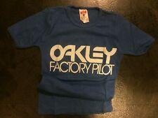 Old School BMX OAKLEY Factory T shirt Very Small