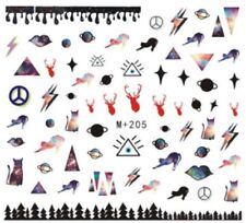 Nail Art Stickers Water Decals Transfers Mysterious Symbols (M+205)