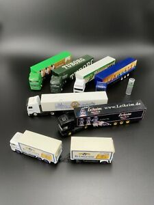 German Beer Truck Model Gift Lot Of 7 Limited Editions HO Scale