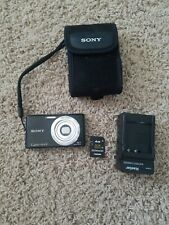 Sony Cyber-shot DSC-W530 14.1MP Digital Camera - Black Bundle, free ship