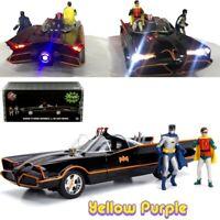 Jada 1:18 Classic TV Series 1966 Batmobile with Lights & Batman & Robin 98625