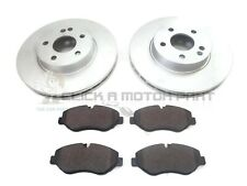 MERCEDES VITO 2004-2014 FRONT 2 BRAKE DISCS AND PADS SET ( BREMBO CALIPER PADS )