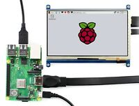 1024x600 7inch Display for Raspberry Pi 4B/3B+ IPS Capacitive Touch Screen