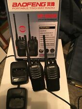 Baofeng Portable Two Way Radio  BF-888S OPEN BOX Two Pack