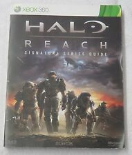 Halo Reach signature Series Strategy BradyGames Guide Book for XBox 360 system