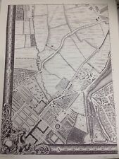 Large Print of a London Map First Published in 1746. Kings Road a3